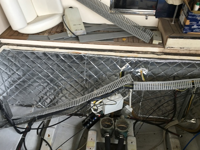 Impianto elettrico imbarcazione